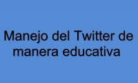 Tutorial de Twitter y su uso educativo
