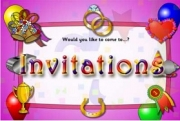 Would you like to come…? Invitations
